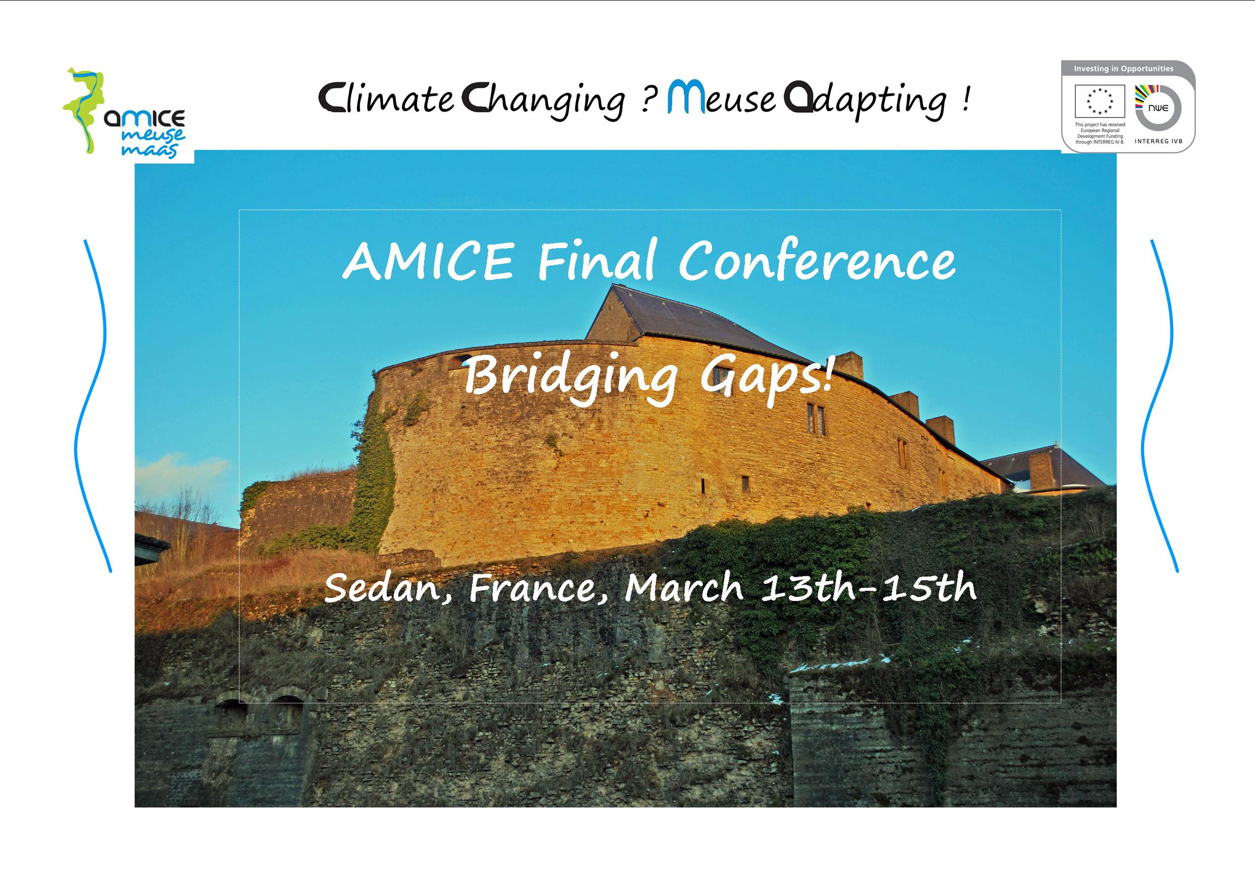 AMICE, news, Adaptation of the Meuse to the Impacts of